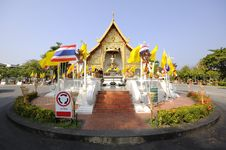 Free Phra Singh Temple. Royalty Free Stock Image - 24148016