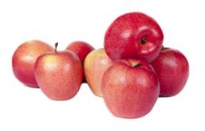 Free Apples Are Red Royalty Free Stock Photo - 24148435