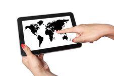 Free World Map Stock Photos - 24149643