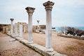 Free Row Of Ancient Column. Stock Photo - 24153570