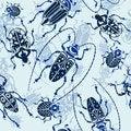 Free Seamless Bug Pattern Stock Images - 24155764