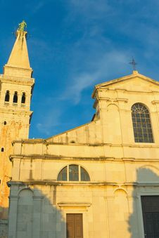 Free Church Of St. Euphemia In Rovinj &x28; Croatia&x29; Royalty Free Stock Photos - 24150138