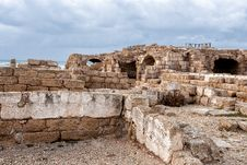 Free Ruins Of Roman Period In Caesarea Royalty Free Stock Photo - 24152695