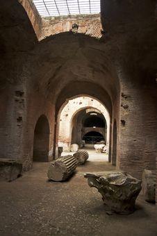 Free Roman Amphitheatre Stock Image - 24152811