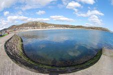 Free Bay At Burntisland Royalty Free Stock Photography - 24153767