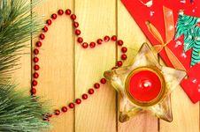 Free Christmas Decoration Stock Image - 24154981