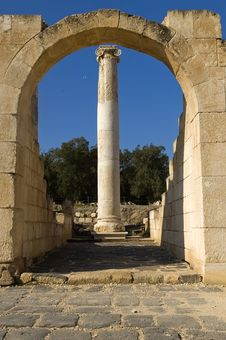 Archaeological Excavations ,Israel Royalty Free Stock Image