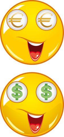Smiley Icons Stock Photos