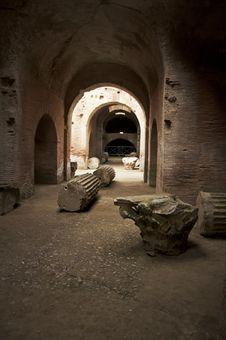 Free Roman Amphitheatre Royalty Free Stock Images - 24158209