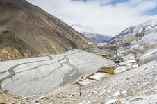 Free Empty River In Himalaya Royalty Free Stock Image - 24160066