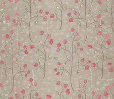 Free Seamless Leaves Wallpaper Stock Image - 24160101