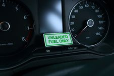 Free Unleaded Fuel Only Stock Photography - 24161202