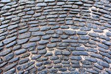 Free Old Cobblestones Background Royalty Free Stock Image - 24163536