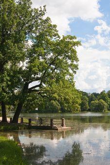 Tsarskoye Selo. Catherine Park. Russia Stock Images