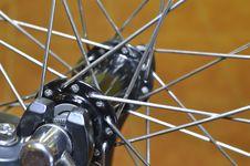 Free Bike Spokes Royalty Free Stock Photo - 24165245