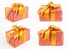 Free Red Gift Royalty Free Stock Photo - 24165575