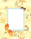 Free Summer Border Frame Royalty Free Stock Images - 24177849