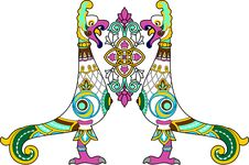 Free Ornamental Bird Royalty Free Stock Images - 24171029