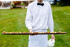 Free Appetizers Being Served Stock Photos - 24176973