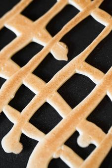 Free Grid Shaped Cookies Royalty Free Stock Image - 24176996