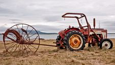 Free Tractor Royalty Free Stock Image - 24178616