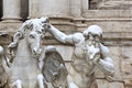 Free Detail Of Trevi Fountain In Rome. Royalty Free Stock Image - 24185166