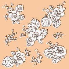 Free Flowers Pattern Stock Image - 24180201
