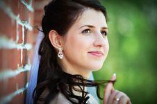 Free Happy Bride Royalty Free Stock Photos - 24183938
