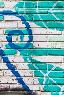 Free Old Wall Fill Of Graffiti Royalty Free Stock Photography - 24184957