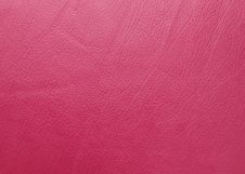 Free Red Leather Texture Stock Photography - 24185912