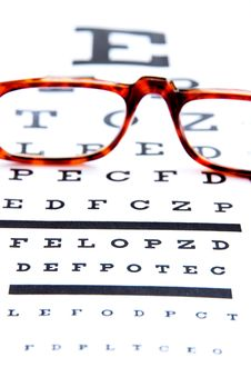 Free Optometry Concept Royalty Free Stock Images - 24186339