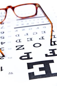 Free Optometry Concept Royalty Free Stock Photos - 24186358