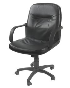 Free Office Leather Chair Royalty Free Stock Photo - 24187905