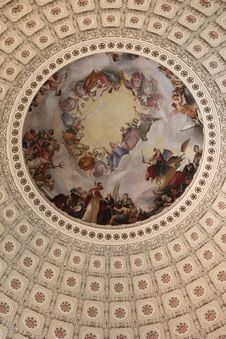 Free Capitol Rotunda Stock Image - 24189771