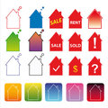 Free Colorful Template Vivid Icons Web Internet Stock Image - 24195841