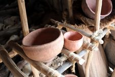 Free Indian Pottery Royalty Free Stock Photo - 24190945