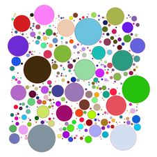 Free Abstract Circles Decorative Royalty Free Stock Images - 24191329