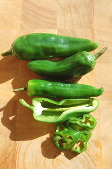 Free Green Peppers Stock Images - 24192794