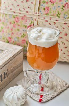 Free Tea With Marshmallows Stock Photos - 24192983