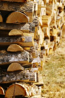 Free Fire Wood Royalty Free Stock Images - 24193159