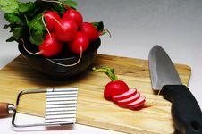 Free Radish Sliced Stock Photo - 24193270