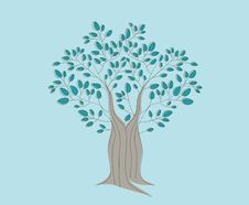 Free Tree Illustration Stock Photo - 24193490