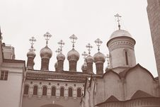 Free Moscow Kremlin Cathedral Stock Photos - 24195053