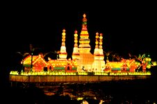 Free Pagoda Lanterns1 Stock Images - 24196574