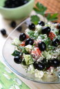 Free Cottage Cheese And Vegetables Stock Image - 2425821