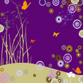 Free Butterflies And Circles Royalty Free Stock Images - 2426729