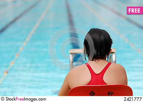 Free Swimming Competition Royalty Free Stock Photography - 2421777