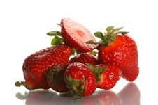 Free Ripe Juicy Strawberry Royalty Free Stock Image - 2420136