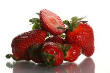 Free Ripe Juicy Strawberry Royalty Free Stock Photos - 2420138