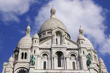 Free Sacre-Coeur Basilica Details Stock Image - 2420851